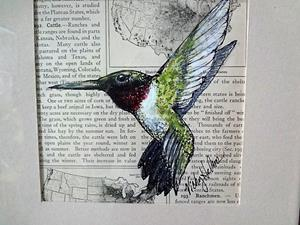 Detail Image for art Hummingbird Two (SOLD)