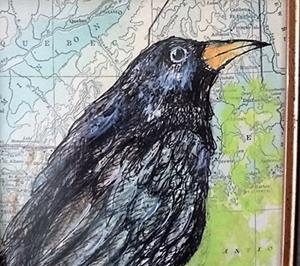 Detail Image for art Crow