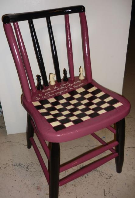 Art: Be the Chess Player DONATION & COMMISSION by Artist Vicky Helms