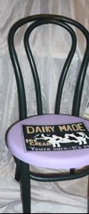 Detail Image for art Cow Chair DONATION