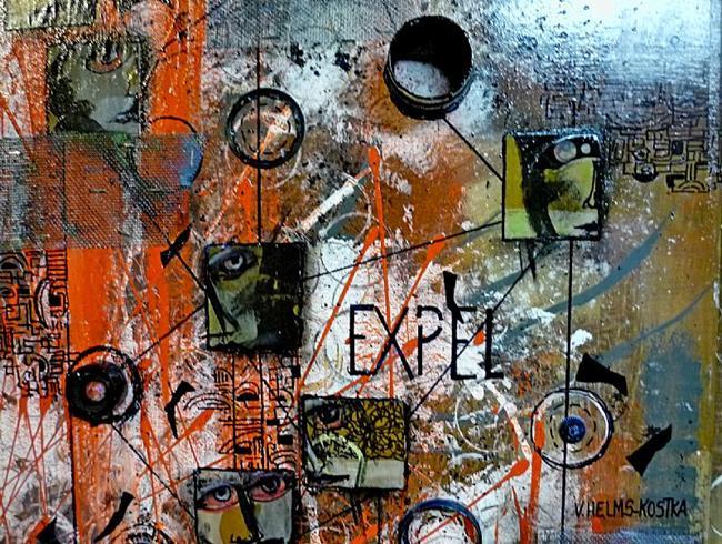 Art: Expel by Artist Vicky Helms