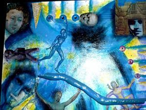 Detail Image for art Blue Rising