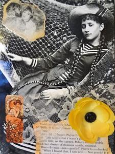 Detail Image for art Colette Collage 3 (SOLD)