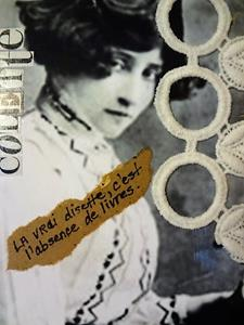 Detail Image for art Colette Collage 1 (SOLD)