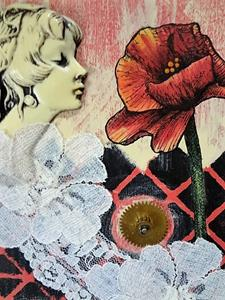 Detail Image for art Poppy and Lace