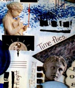 Detail Image for art Time Flies Painting