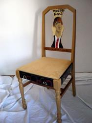 Art: Modigliani by Artist Vicky Helms