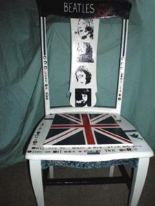 Detail Image for art The Beatles Chair SOLD