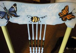 Detail Image for art 3rd Grade Chair COMMISSION