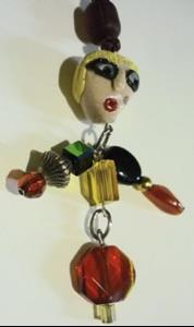 Detail Image for art Red Body Girl Necklace