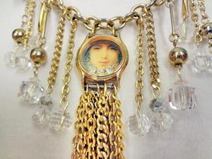 Detail Image for art Girl Watch Necklace (GIFTED)