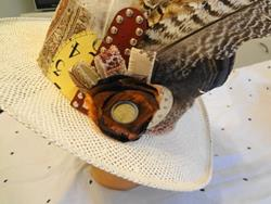 Art: Pheasant Hat by Artist Vicky Helms