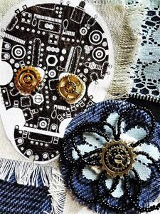 Detail Image for art Steampunk Purse #15