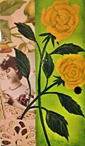 Detail Image for art Yellow Roses