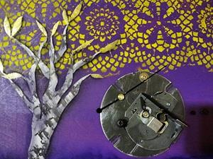 Detail Image for art Three Trees & Geese