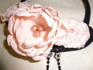 Detail Image for art Pink Rose Necklace