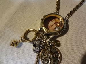 Detail Image for art MONETS GIRL NECKLACE (SOLD)