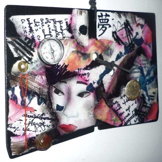 Art: Geisha Secrets SOLD by Artist Vicky Helms