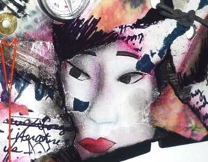 Detail Image for art Geisha Secrets SOLD