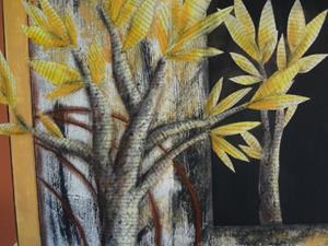 Detail Image for art Good Birches Make Good Karma