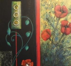 Detail Image for art (SOLD) Poppies