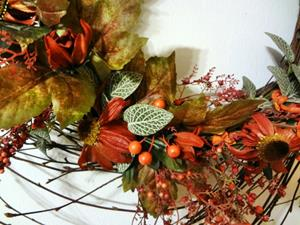 Detail Image for art Swirl Wreath