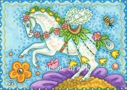 Art: PONY WINGS by Artist Susan Brack