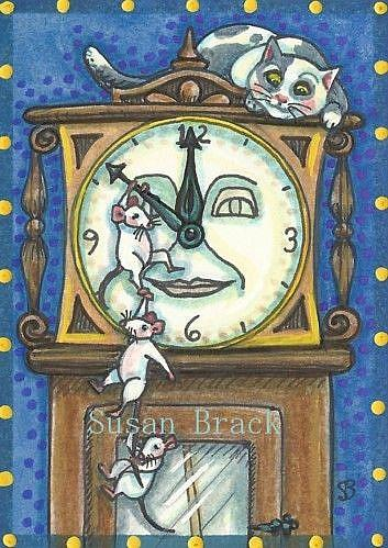 Art: COUNTDOWN TILL MIDNIGHT by Artist Susan Brack
