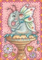 Art: MIDSUMMER SPLASH by Artist Susan Brack
