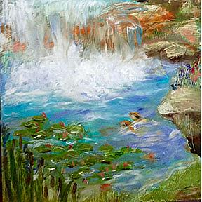Detail Image for art Meditation Falls
