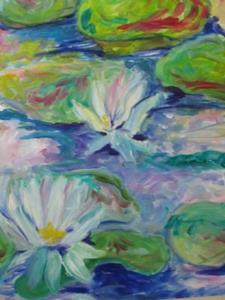 Detail Image for art Lily Pond