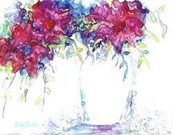Art: Pink Bouquet by Artist Ulrike 'Ricky' Martin