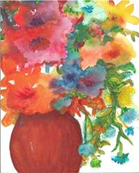 Art: Flowers in  Vase by Artist Ulrike 'Ricky' Martin