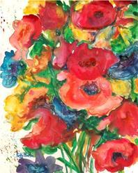 Art: Predominantly Pink by Artist Ulrike 'Ricky' Martin