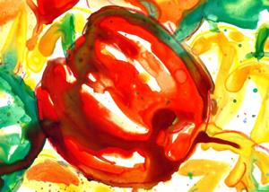 Detail Image for art Peppers in Abstract
