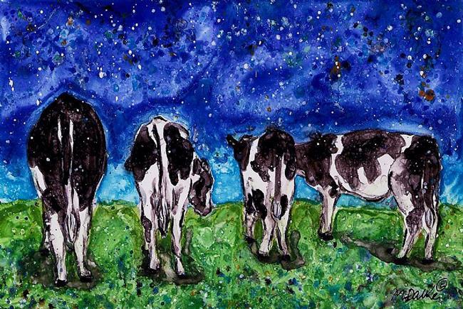 Art: Headed Home by Artist Melinda Dalke