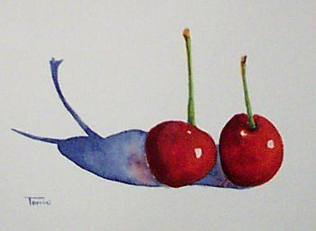 Art: Cherries Series Two by Artist Torrie Smiley