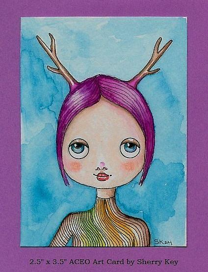 Art: A lovely Season by Artist Sherry Key