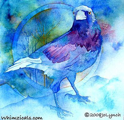 Art: Raven Bleu by Artist Jo Lynch