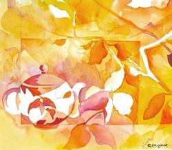 Art: Autumn Tea by Jo Lynch