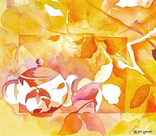 Art: Autumn Tea by Artist Jo Lynch