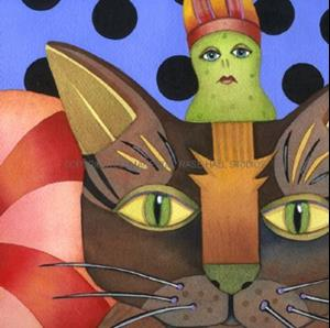Detail Image for art Kitty & Pickleman