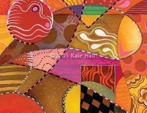 Detail Image for art Booga Booga Orange