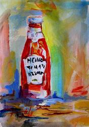 Art: Ketchup by Artist Delilah Smith