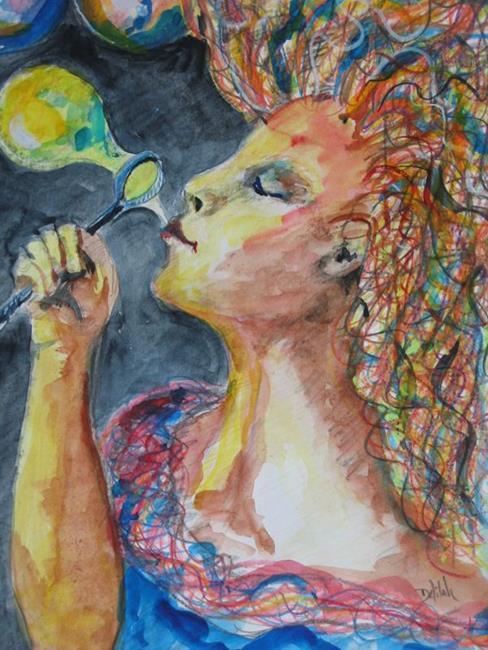 Art: Dream Maker, SOLD by Artist Delilah Smith