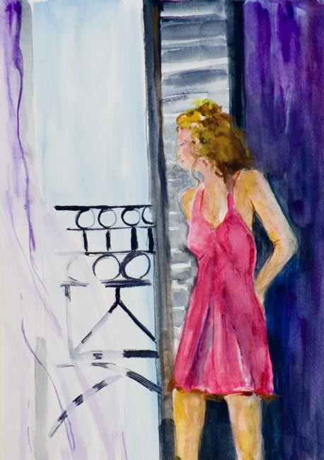 Art: The Open Door by Artist Delilah Smith
