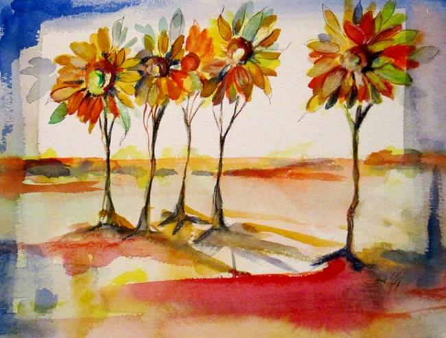 Art: Surrealism Landscape by Artist Delilah Smith