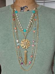 Art: Statement Necklace 1 by Artist studio524