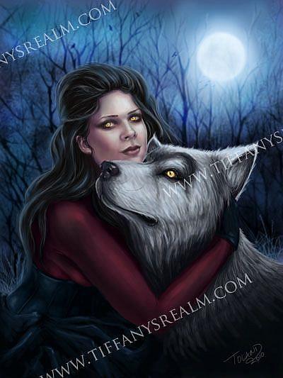 Art: Lupa by Artist Tiffany Toland-Scott