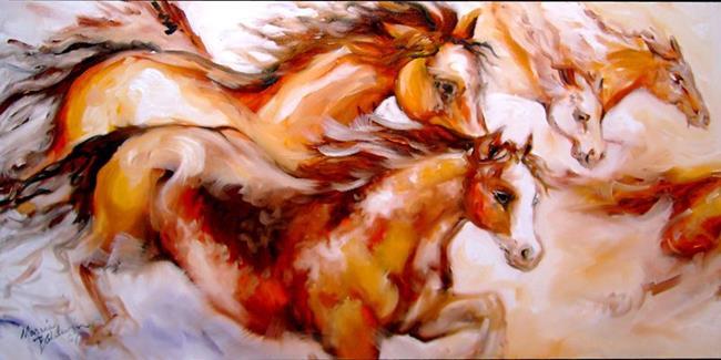 Art: SPIRIT THUNDER by Artist Marcia Baldwin